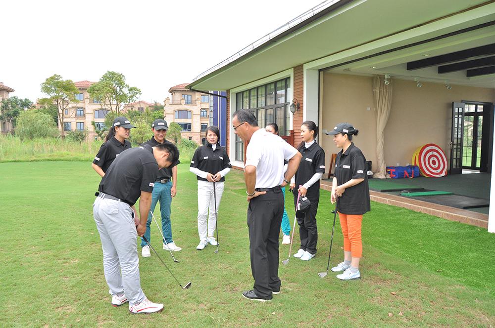 USGTF-2014崇明岛览海国际高尔夫俱乐部培训班